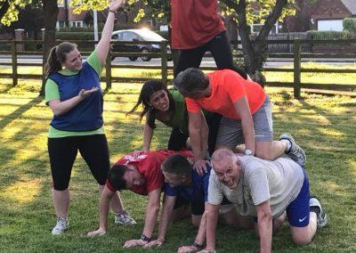 LMF team pyramid
